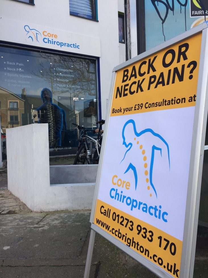Special offer back pain treatment brighton
